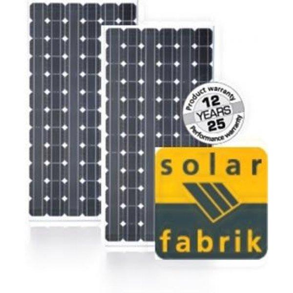 Πάνελ φωτοβολταϊκό Solar Fabrik 190Wp 24V 72 CELLS SF-150H-190