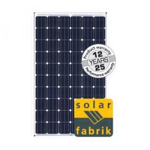 Πάνελ φωτοβολταϊκό Solar Fabrik 245Wp 24V 72 CELLS PL-225M-245