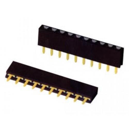 Pins θηλυκό μονά ίσια PNS1X40