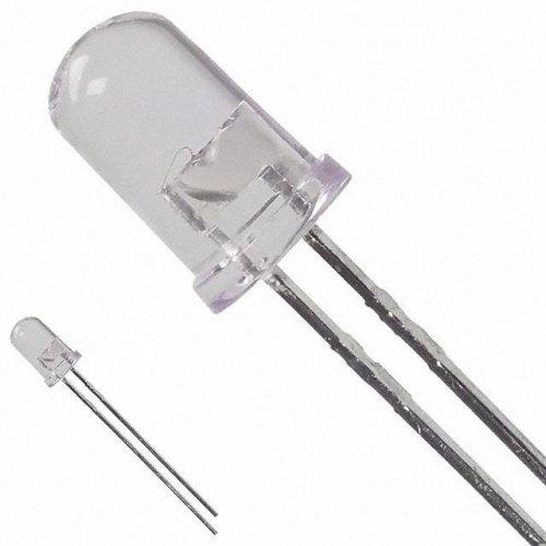 Led 5mm υψηλής φωτεινότητας κίτρινο 1800mcd VUB-505Y132