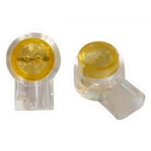 Ακροδέκτης τηλεφώνου τερματικός κίτρινο WE7UY