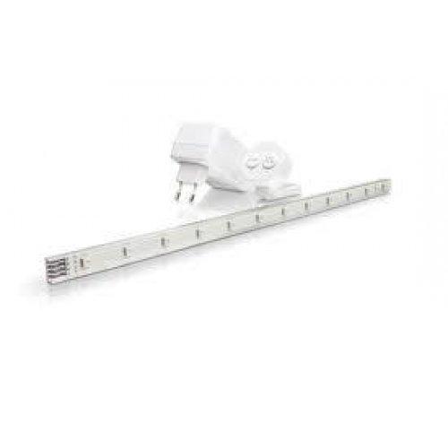 Φωτιστικό led strip λευκό imageo Philips