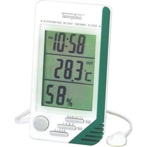 Θερμόμετρο-ρολόι-υγρασιόμετρο MDL-2410