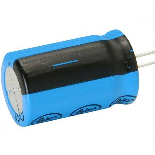 Πυκνωτής ηλεκτρολυτικός SK16V1500μf 85*C 10x20mm LELON