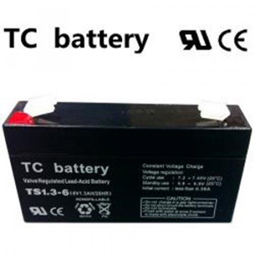 Μπαταρία 6V 1,3Ah μολύβδου TS1.3-6 TC Battery