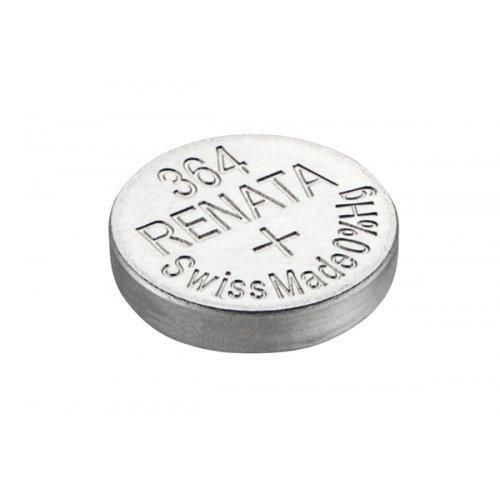 Μπαταρία κουμπί Silver Oxide L/D 1.55V 364 Renata