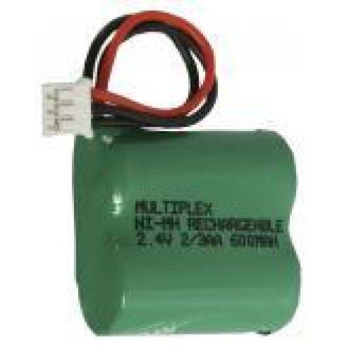 Μπαταρία pack 2 pcs x 2/3 AAA 2.4V 600mAh Ni-Mh με xalio plug Code S