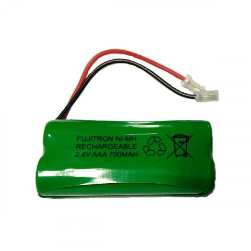 Μπαταρία pack 2 pcs x AAA 2.4V 700mAh Ni-Mh με universal plug Code S SAFT