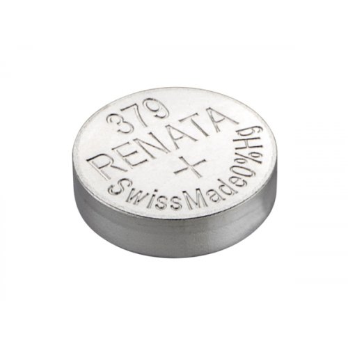 Μπαταρία κουμπί Silver Oxide L/D 1.55V 379 Renata