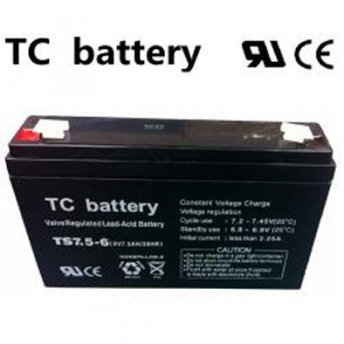 Μπαταρία 6V 7.5Ah μολύβδου TS7,5-6 TC Battery