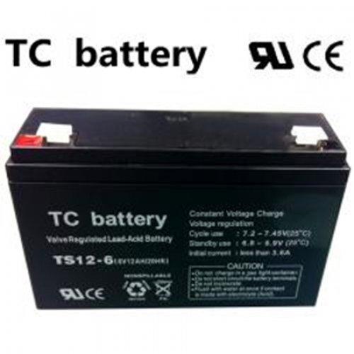 Μπαταρία 6V 12Ah μολύβδου TS12-6 TC Battery