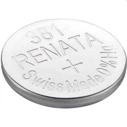 Μπαταρία κουμπί Silver Oxide L/D 1.55V 381 Renata