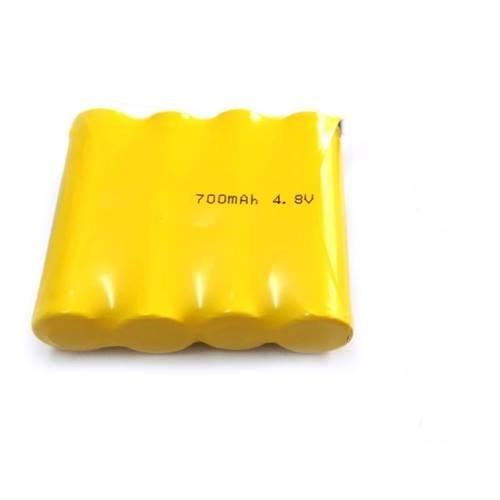 Μπαταρία pack 4 pcs x 1.2V AAA 4.8V 700mAh Ni-Mh με λαμάκι Code S Fujitron