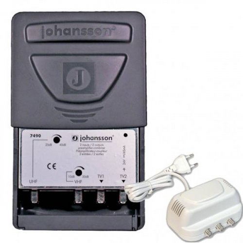 Ενισχυτής ιστού VHF - 1 x UHF 7490+2430 JOHANSSON