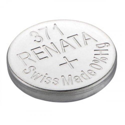 Μπαταρία κουμπί Silver Oxide L/D 1.55V 371 Renata