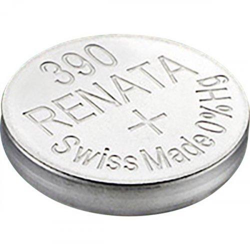 Μπαταρία κουμπί Silver Oxide L/D 1.55V 390 Renata