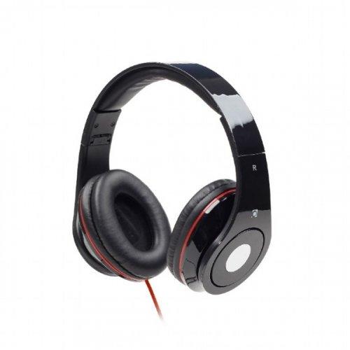 Ακουστικά Στερεοφωνικά με Μικρόφωνο Μαύρο Detroit Audio Gembird