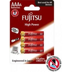 Μπαταρία αλκαλική LR03 AAA BL4pcs High Power Fujitsu