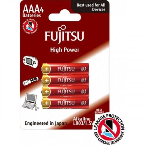 Μπαταρία alkaline LR03 AAA BL4pcs High Power FUJITSU