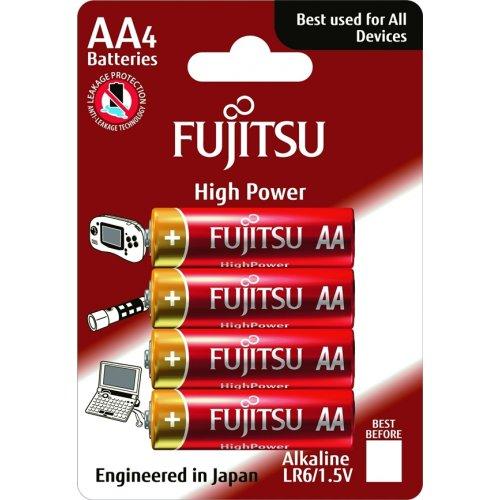 Μπαταρία alkaline LR06 AA BL4pcs High Power FUJITSU
