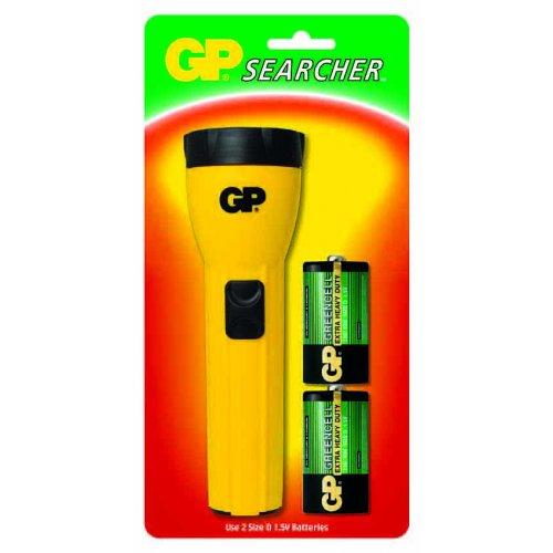 Φακός discovery + 2 Μπαταρίες C GP