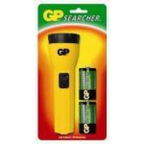 Φακός Searcher +2 μπαταρίες AA GP