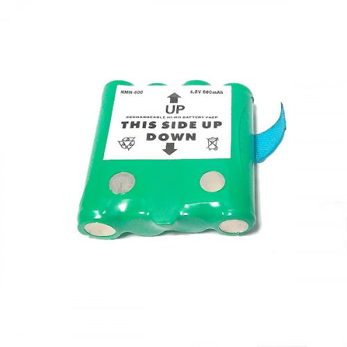 Μπαταρία pack 4 pcs x 1.2V AAA 4.8V 800mAh Ni-Mh με λαμάκι Code S Fujitron