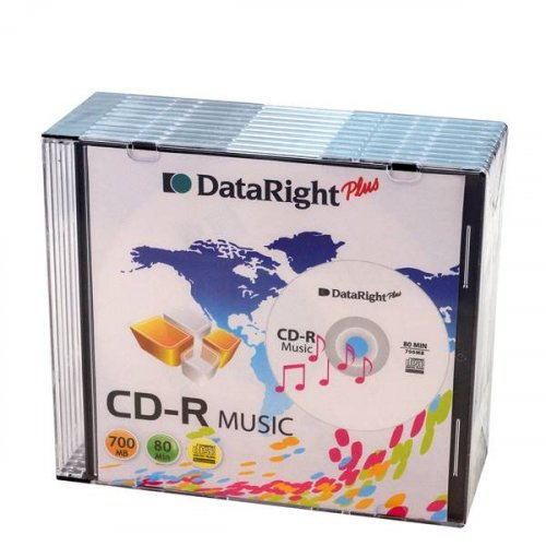 Cd Audio Slim 700MB Dataright