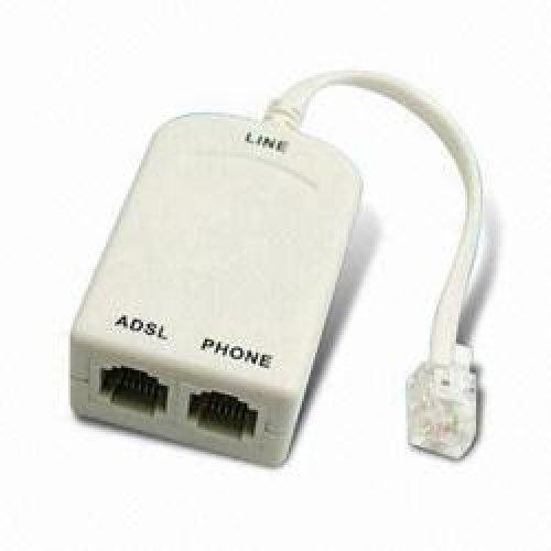 Φίλτρο γραμμής τηλεφώνου + splitter ADSL -> PSTN NET-046