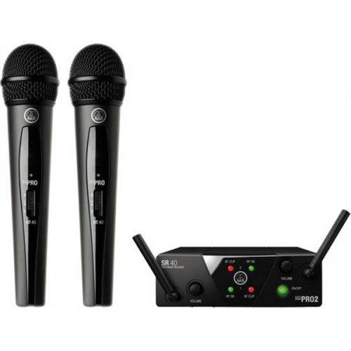Ασύρματο Σύστημα Χειρός Μικρόφωνου 2 Συχνοτήτων UHF WMS40 MINI2 VOCAL ΑΚG