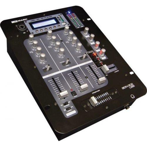 Mίκτης ήχου 3 καναλιών USB/BLUETOOTH 302 USB MARK SION