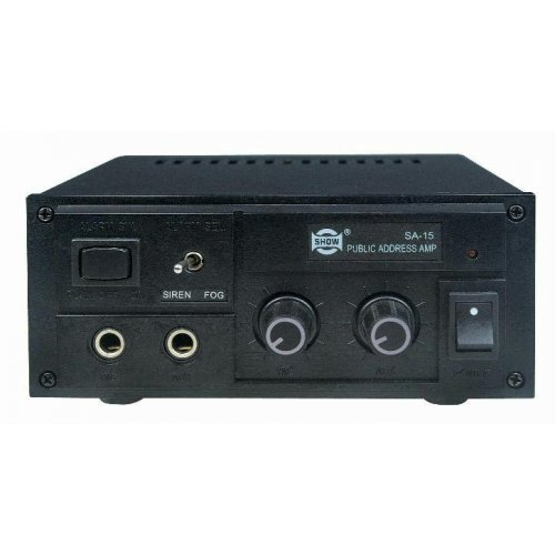 Ενισχυτής μικροφωνικός Αuto 12V 15W SA-7015 SEIKAKU