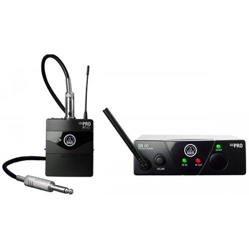 Ασύρματο σύστημα κιθάρας 1 συχνότητας UHF WMS 40 MINI AKG