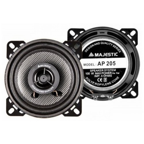 Speaker auto 10cm 2 WAY 100 watt AP 205 MAJESTIC