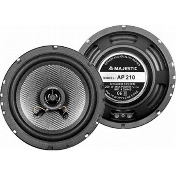 Ηχείο Αυτοκινήτου 16cm 2 WAY 200 watt AP 210 MAJESTIC
