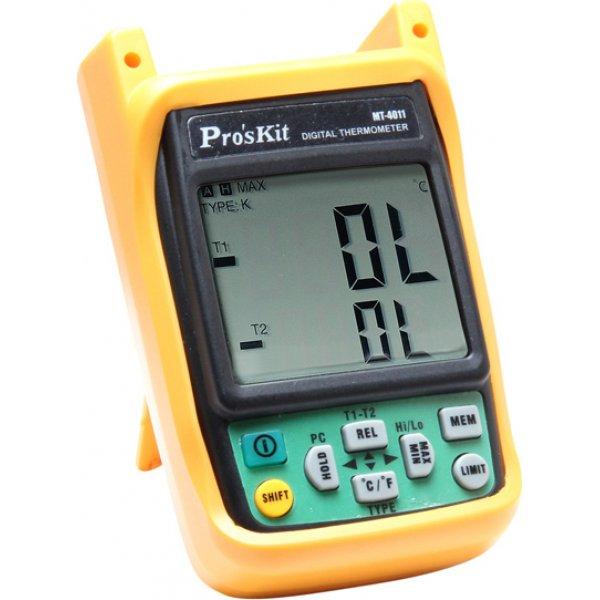 Θερμόμετρο διπλής οθόνης-αναγραφής MT-4011 PROSKIT