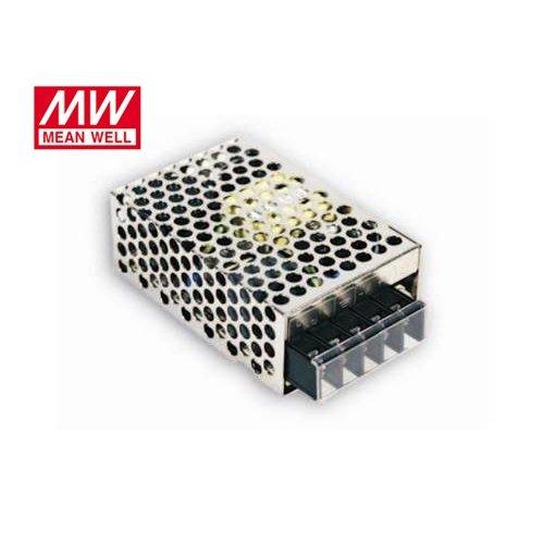 Τροφοδοτικό switch 230V IN -> OUT 12VDC 25W 2.1A κλειστού τύπου mini RS25-12 Mean Well
