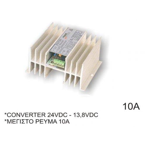 Converter 24V DC->12V 10Α CON-100
