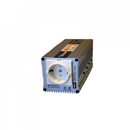 Inverter 12V/24V->230V 350W SP-350 τροποποιημένο ημίτονο