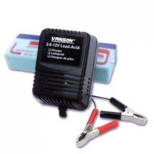 Φορτιστής μπαταριών μολύβδου 230V -> 2V/6V/12V DC αυτόματος MWC2612GS Minwa