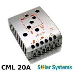 Ρυθμιστής φόρτισης 12V-24V 20Α CML-20-2.2 PHOCOS