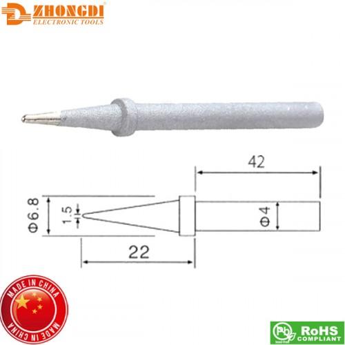Μύτη κολλητηριού 1.5mm C1-16 για το σταθμό κόλλησης ZD98/99 Zhongdi