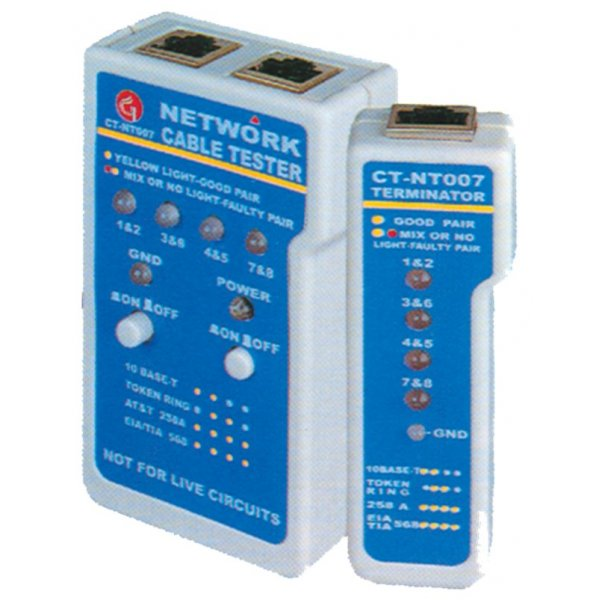 Tester δομημένης καλωδίωσης CT-NT007 CT-BRAND