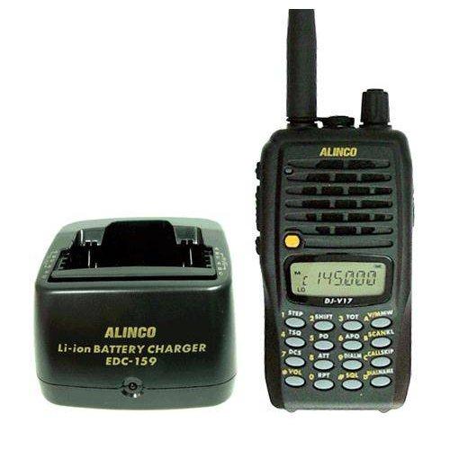 Πομποδέκτης Φορητός VHF DJ-V17E Alinco