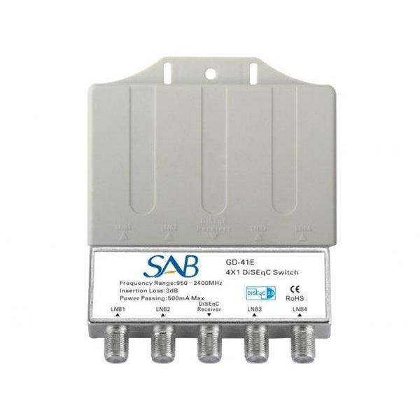 Diseqc 4x1 Κ032 - GD41E SAB