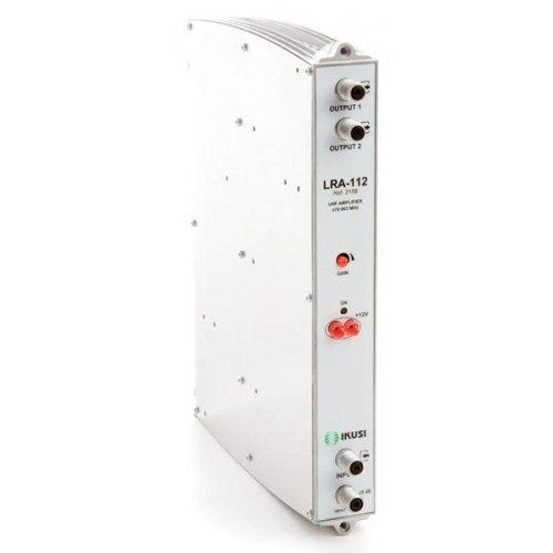 LRA-112 2X110dB UHF προενισχυτής IKUSI