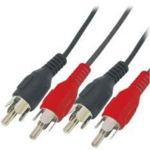 Καλώδιο 2 x RCA αρσενικά -> 2 x RCA αρσενικά 3m PL101-3 Prolink