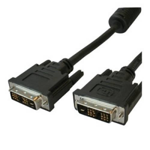 Καλώδιο DVI-D 18+1 αρσενικό -> DVI-D 18+1 αρσενικό 3m VD001