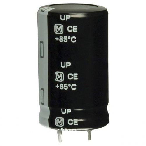 Πυκνωτής ηλεκτρολυτικός SK63V2200μF 85*C 18x35.5mm LELON