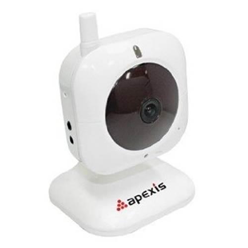 Κάμερα Mini ασύρματη-ενσύρματη 6mm IP CMOS J012-WS Άσπρη Apexis